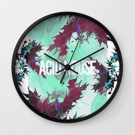 Acid House I Wall Clock