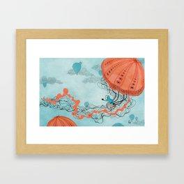 Dirigible Jellies Framed Art Print