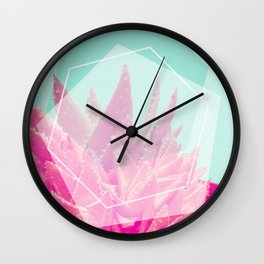 Aloe Veradream Wall Clock