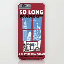 SO LONG BOULDER CITY iPhone Case