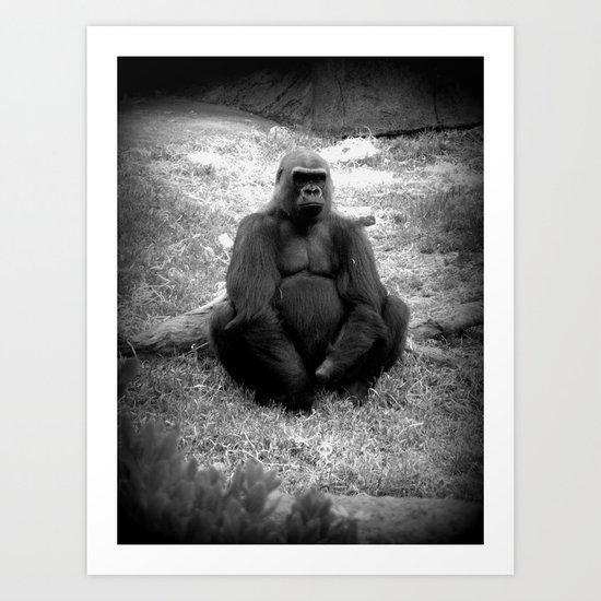 Gorilla Prime  Art Print