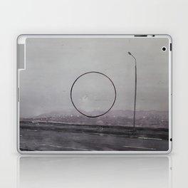 ROAD AND CIRCLE. Warecolor painting Laptop & iPad Skin