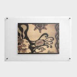 Prehispanic coffee Floating Acrylic Print