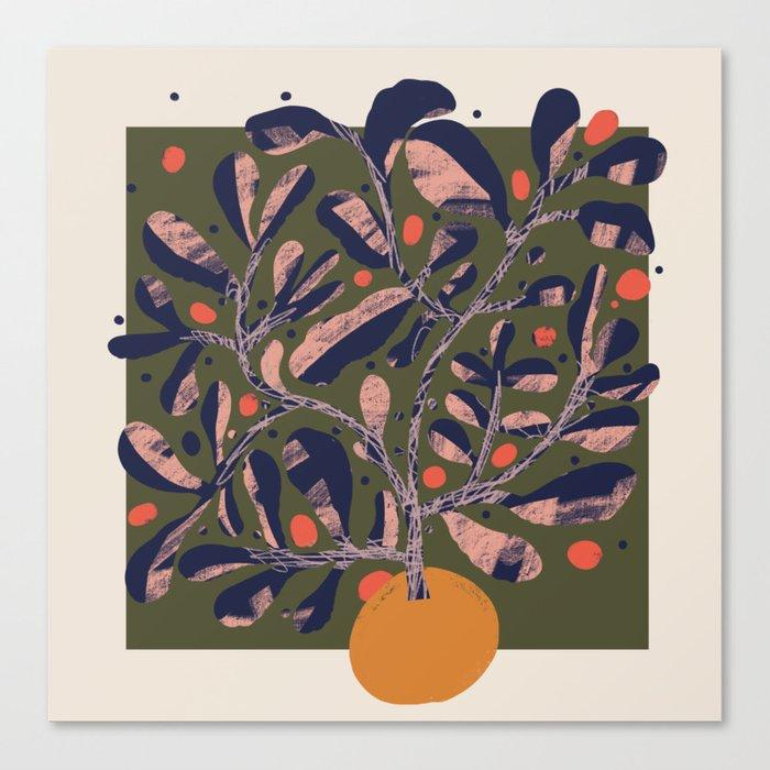Thriving Tree Canvas Print