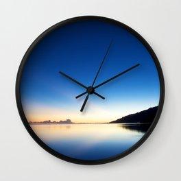 HELLA GOOD SUNRISE Wall Clock