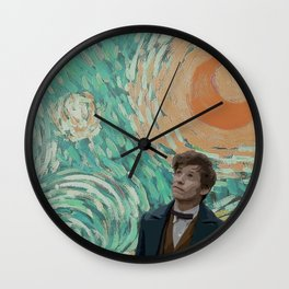 Newt Scamander Wall Clock