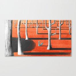 The Blue Fox Canvas Print