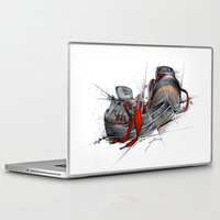 vans Laptop & iPad Skins featuring VANS by alexviveros.net