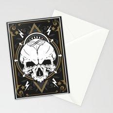 Skull design Stationery Cards