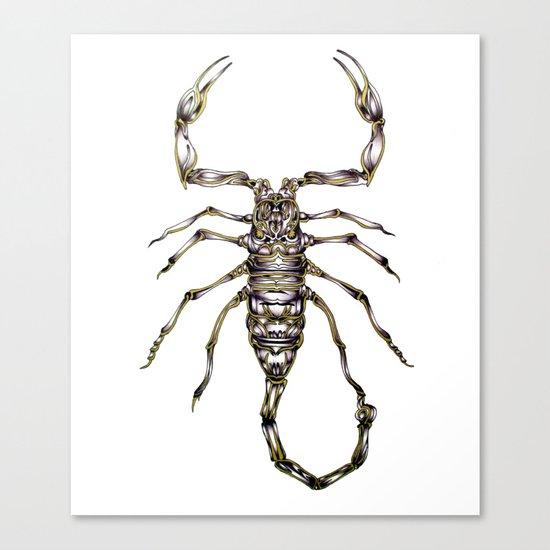 Scorpion's Kiss Canvas Print