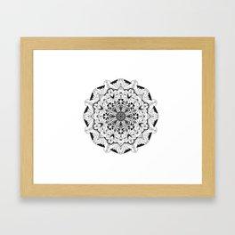 Mandala animals! Framed Art Print