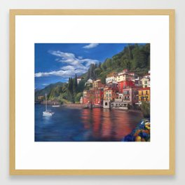 Beautiful Italy Framed Art Print