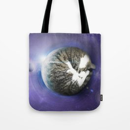 The Sleeping Cat Tote Bag