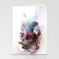 swan queen Stationery Cards featuring Swan Queen Magic by Slayerstime