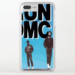 RUN-DMC-1988 Clear iPhone Case