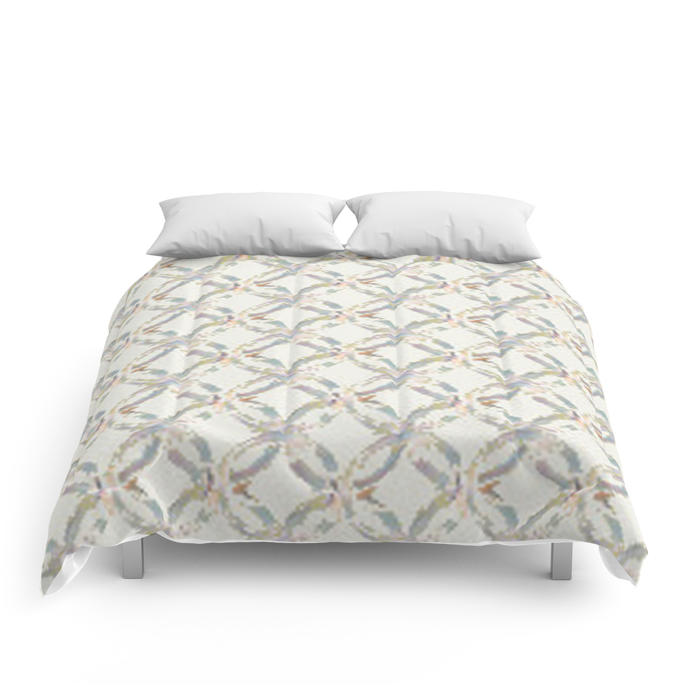 Wedding_Ring_Quilt_Block_Multi_Comforter