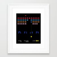 spaceman Framed Art Prints featuring Spaceman by Greg-guillemin