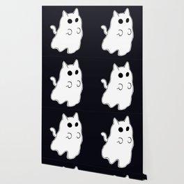 Ghost Cat Wallpaper