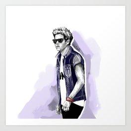 Cool niall Art Print