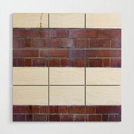 Brick Wall Wood Wall Art