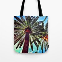 oasis Tote Bags featuring Oasis by efbii