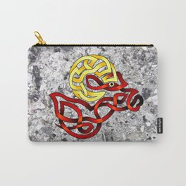 Ram's Head Knot Carry-All Pouch