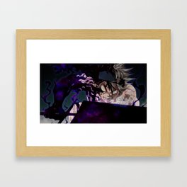 Black Clover Asta Framed Art Print