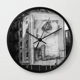 East Village V Wall Clock