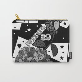 Forever39 Popart by Nico Bielow Carry-All Pouch
