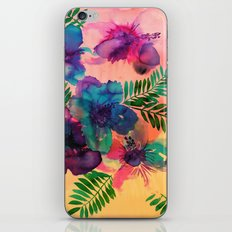Skye Floral iPhone & iPod Skin