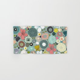 oriental blooms Hand & Bath Towel