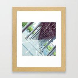 Never-Ending Bridge. Framed Art Print