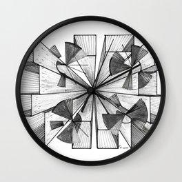 City Lines Wall Clock