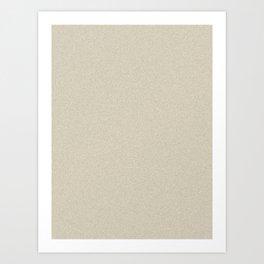 Pearl Brown Saturated Pixel Dust Art Print