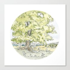 Crop Circle 03 Canvas Print