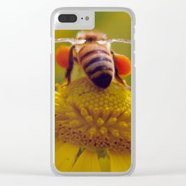 Bee Buzzy Clear iPhone Case
