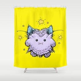 Kitty Fairy Fluff Shower Curtain
