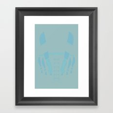 The Bad Guy Framed Art Print