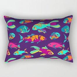 Color Fish Rectangular Pillow