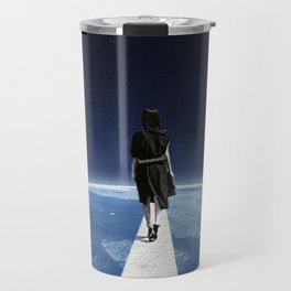 It's a long and lonely road ... Travel Mug
