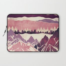 Burgundy Hills Laptop Sleeve