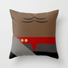 Worf - Minimalist Star Trek DS9 Deep Space Nine - Lieutenant Commander - startrek - Trektangles Throw Pillow