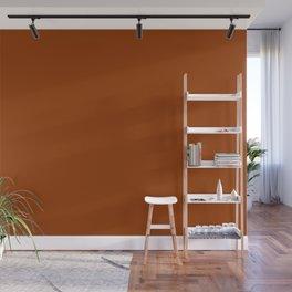 Cello Mood ~ Tawny Orange Wall Mural