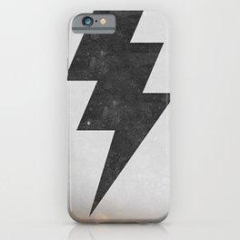 lightning strike iPhone Case