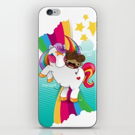 Chestnut Girl And Starlight iPhone Skin