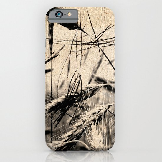DRESSED GRAIN iPhone & iPod Case