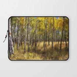 Colorado Autumn Aspens Laptop Sleeve