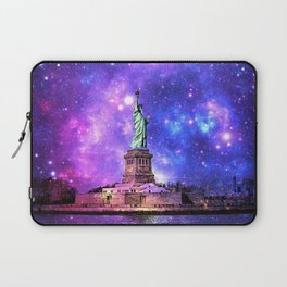 space Statue of Liberty Laptop Sleeve