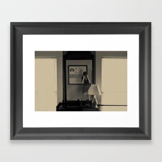 Interpolate Framed Art Print