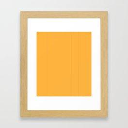 Just Oro Framed Art Print